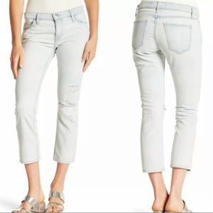 Current Elliott Cropped Straight Jeans 27